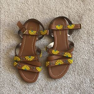 Boden Beaded Strappy Sandals